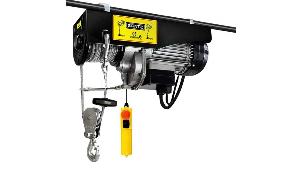 Giantz 1300W Electric Hoist Winch Rope Lifting Cable