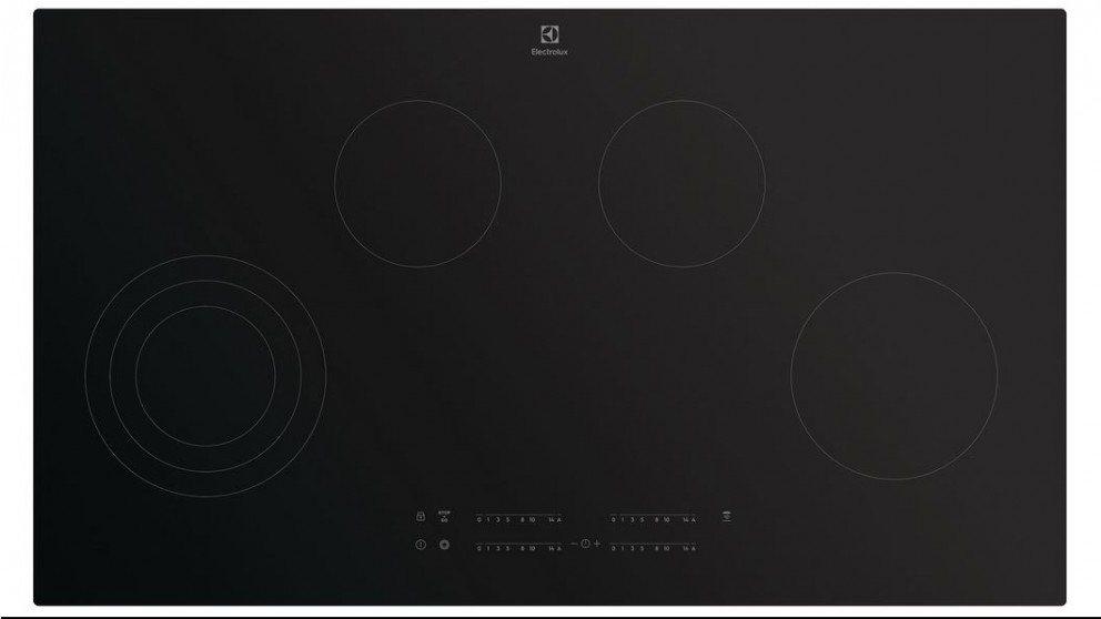 Electrolux 90cm 4 Zone Hob2Hood Ceramic Cooktop