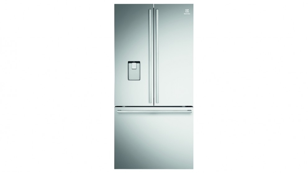 electrolux freshzone 524l french door fridge stainless steel