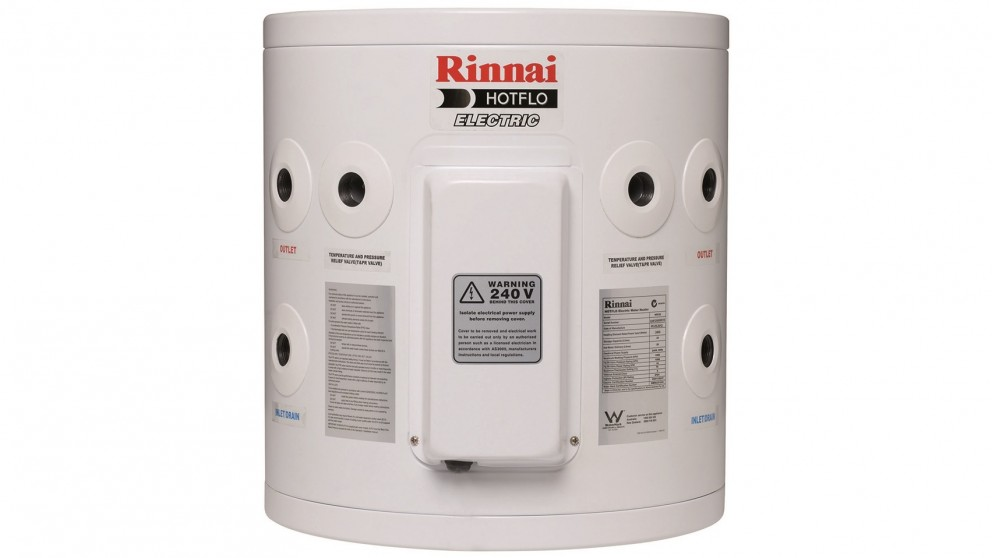 Rinnai Hotflo 25L Plug in 2.4kW Electric Hot Water Storage System
