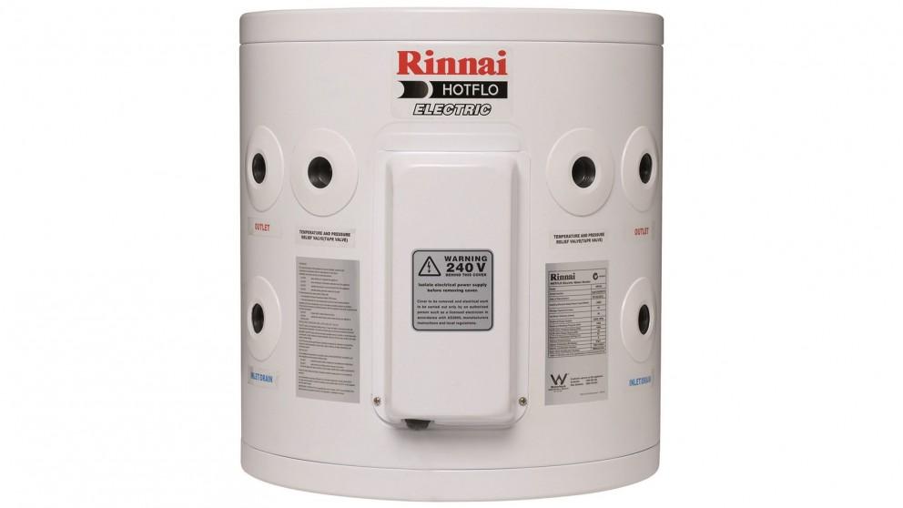 Rinnai Hotflo 25L 3.6kW Single Element Electric Hot Water Storage System