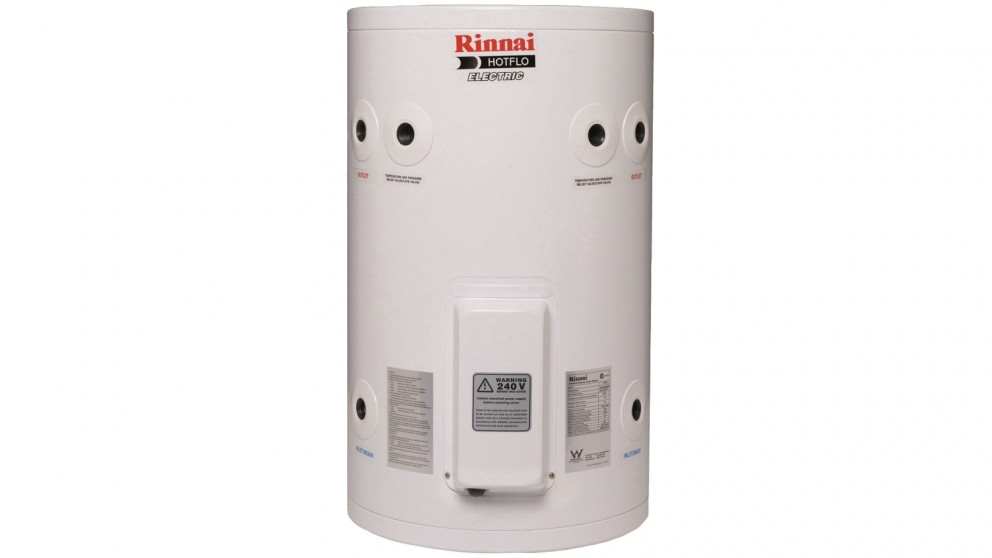 Rinnai Hotflo 50L Plug In 2.4kW Electric Hot Water Storage System