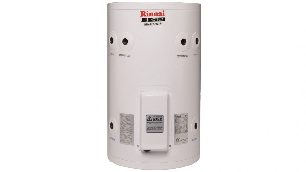 Rinnai Hotflo 50L Plug In 3.6kW Electric Hot Water Storage System