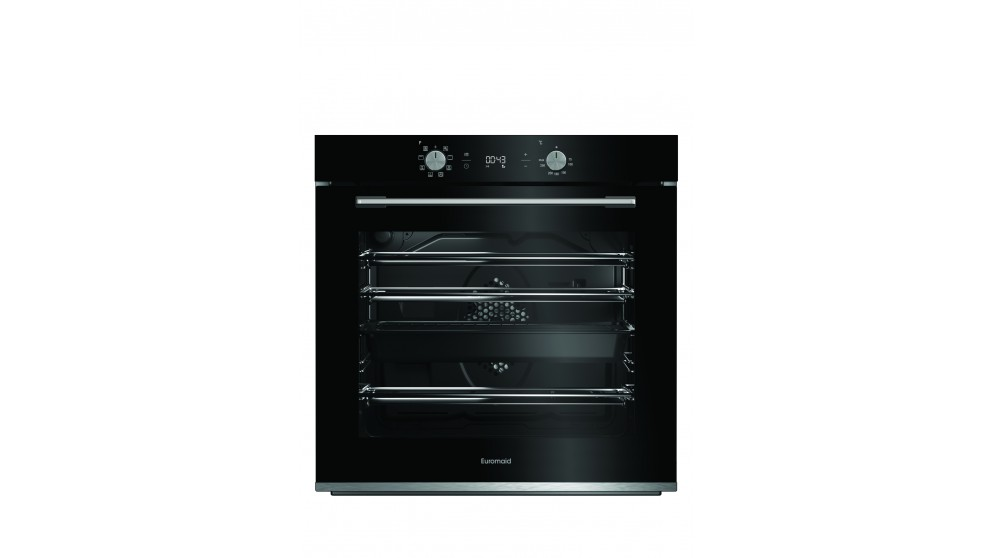 Euromaid Eclipse 600mm 8 Function Oven - Black