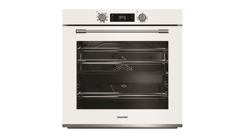 Euromaid Eclipse 600mm 8 Function Oven - White