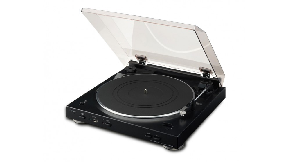 Denon DP200USBBK Automatic Turntable with USB Port & Phono Jack