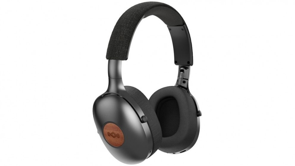 Marley Positive Vibration XL Wireless Over-Ear Headphones - Black