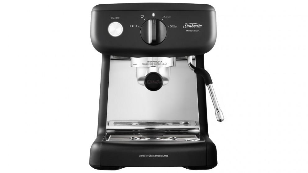 Sunbeam Mini Barista Espresso Machine - Black Classic