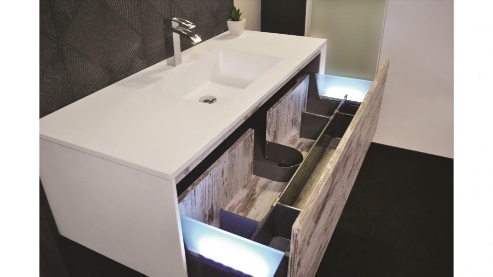 Vanity Bathroom Harvey Norman adp embrace 1200mm wall hung vanity - bathroom vanities - vanities