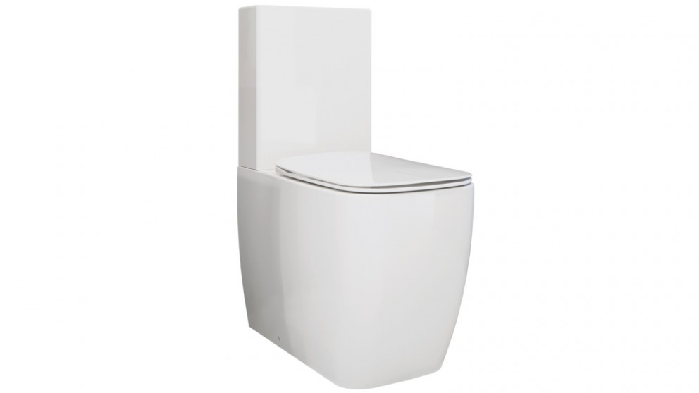Arcisan Eneo Back to Wall Toilet Suite with Slimline Seat