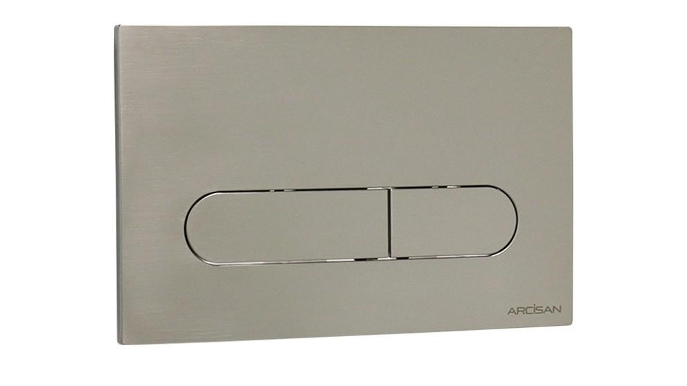 Arcisan Eneo Flush Plate - Satin Nickel