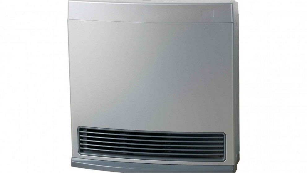 Rinnai Enduro 13 Unflued Gas Convector Heater - Platinum Silver