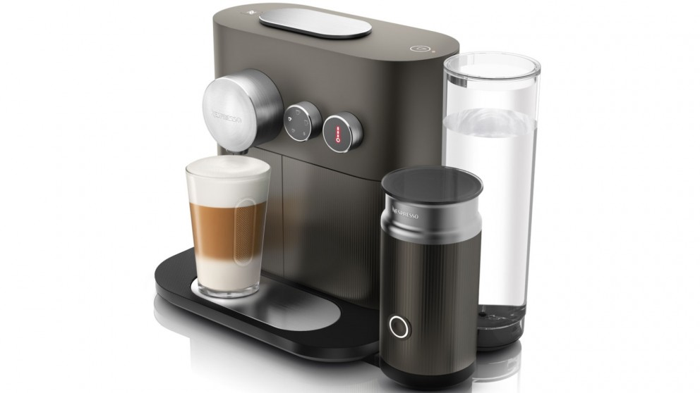 DeLonghi Nespresso Expert and Milk Coffee Machine - Grey