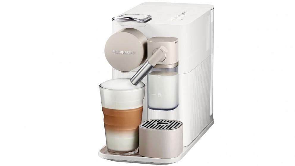 buy delonghi nespresso lattissima one coffee machine white harvey norman au. Black Bedroom Furniture Sets. Home Design Ideas