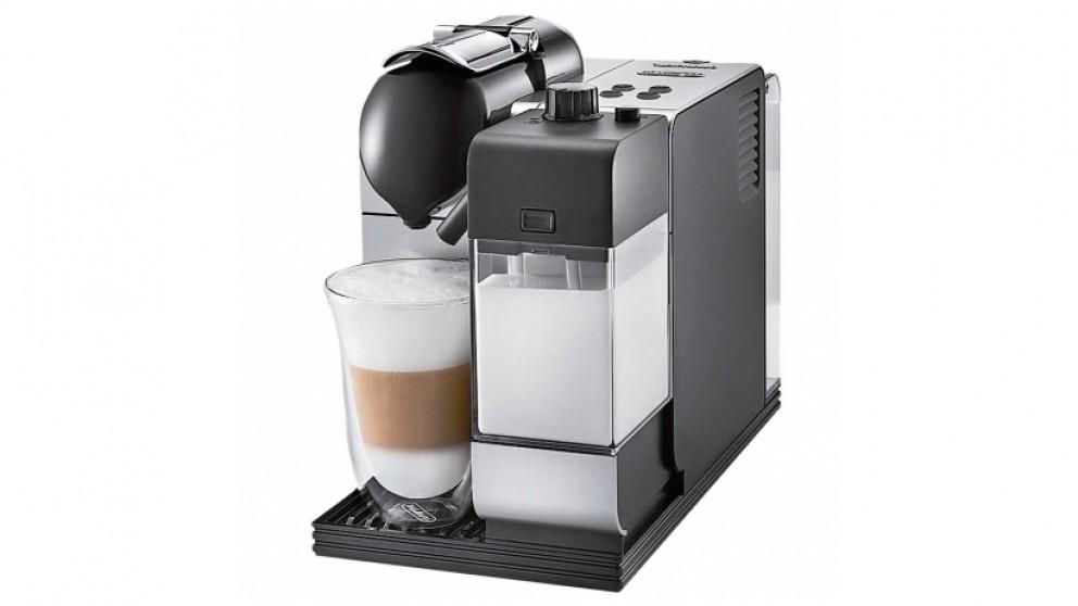 nespresso lattissima plus coffee machine silver coffee machines coffee beverage. Black Bedroom Furniture Sets. Home Design Ideas