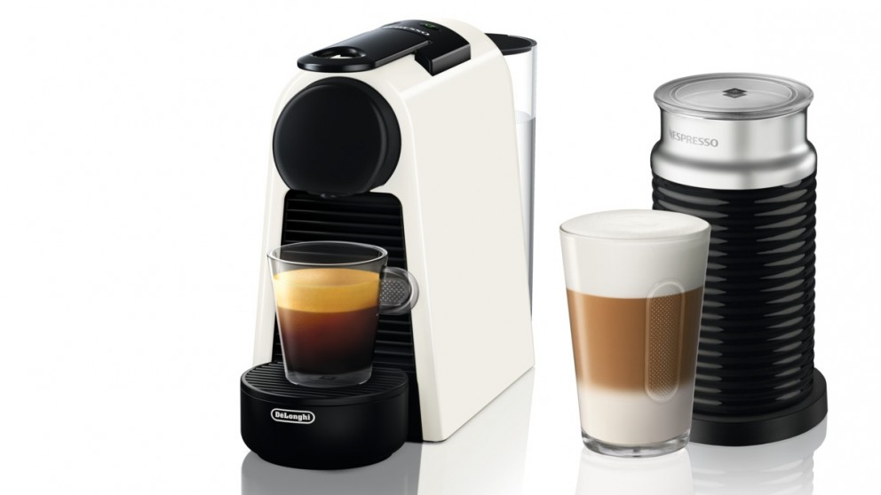 buy delonghi nespresso essenza mini coffee machine white harvey norman au. Black Bedroom Furniture Sets. Home Design Ideas