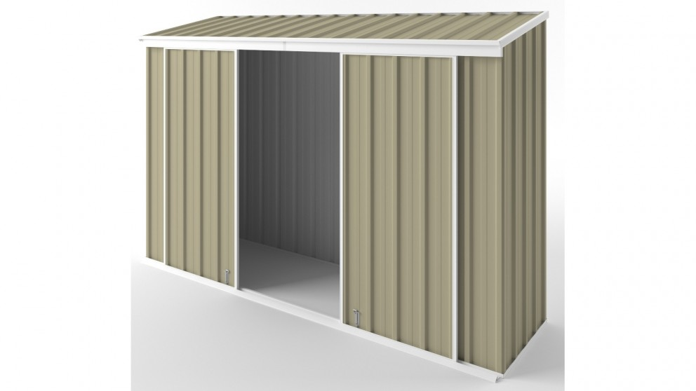 EasyShed D3008 Narrow Slider Garden Shed - Wheat