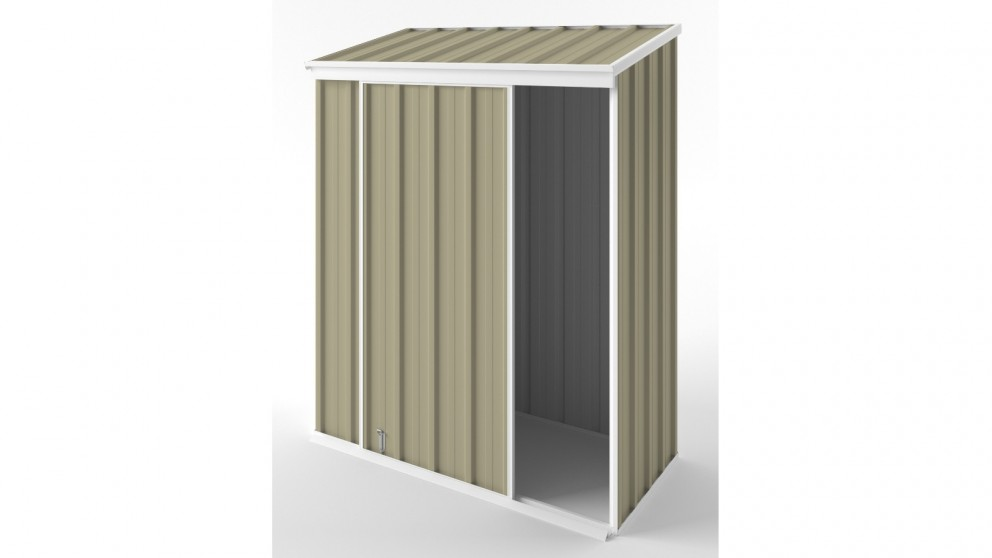 EasyShed S1508 Narrow Slider Garden Shed - Wheat