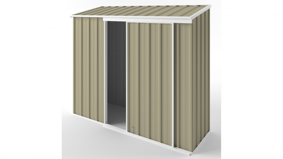 EasyShed S2308 Narrow Slider Garden Shed - Wheat