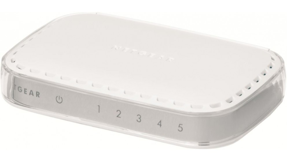Netgear GS605 5 Port Gigabit Ethernet Switch