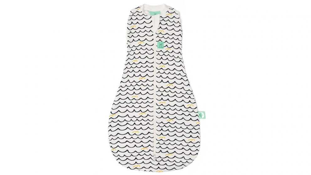 ErgoPouch 0.2 TOG 0-3 Months Cocoon Swaddle Bag - Waves