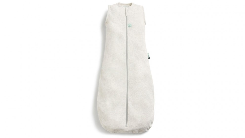 ErgoPouch 0.2 TOG 3-12 Months Jersey Baby Sleeping Bag - Grey Marle