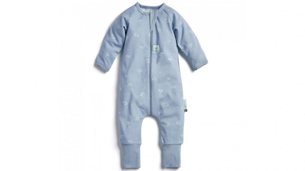 Ergo Pouch 0.2 TOG 3-6 Months Layers Long Sleeve Sleepwear - Ripple