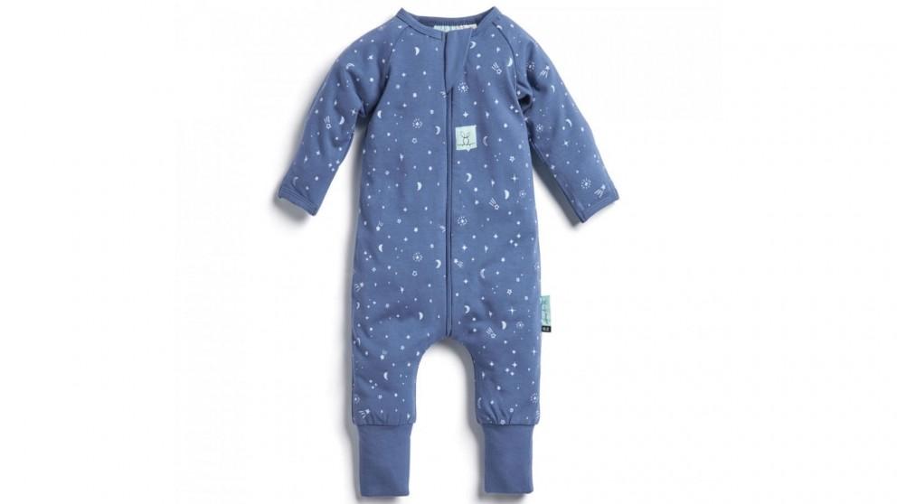 Ergo Pouch 0.2 TOG 6-12 Months Layers Long Sleeve Sleepwear - Night Sky