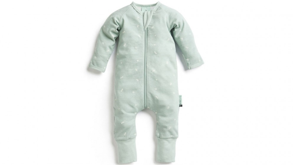 Ergo Pouch 0.2 TOG 6-12 Months Layers Long Sleeve Sleepwear - Sage