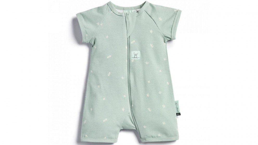 Ergo Pouch 0.2 TOG 1 Year Layer Short Sleeve Sleepwear - Sage