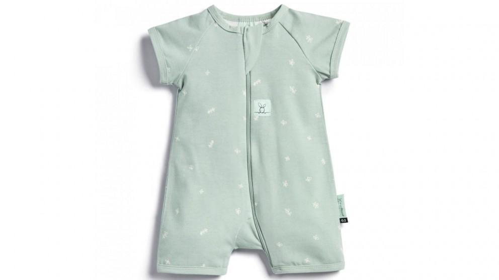 Ergo Pouch 0.2 TOG 6-12 Months Layer Short Sleeve Sleepwear - Sage