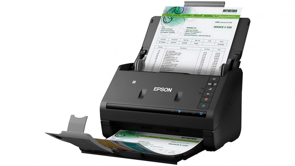 Epson Workforce ES-500WR Wireless Document Scanner