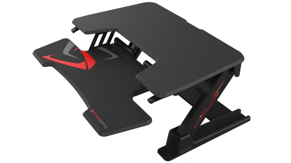 Eureka Ergonomic 36-inch Height Adjustable Standing Desk Converter - Black