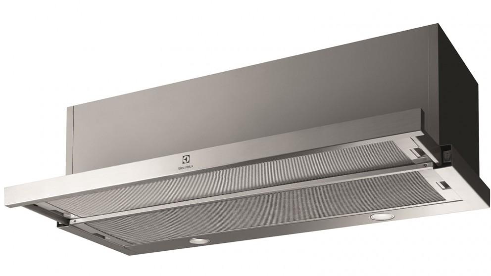 Electrolux 900mm Stainless Steel Trimmed Slide-Out Rangehood
