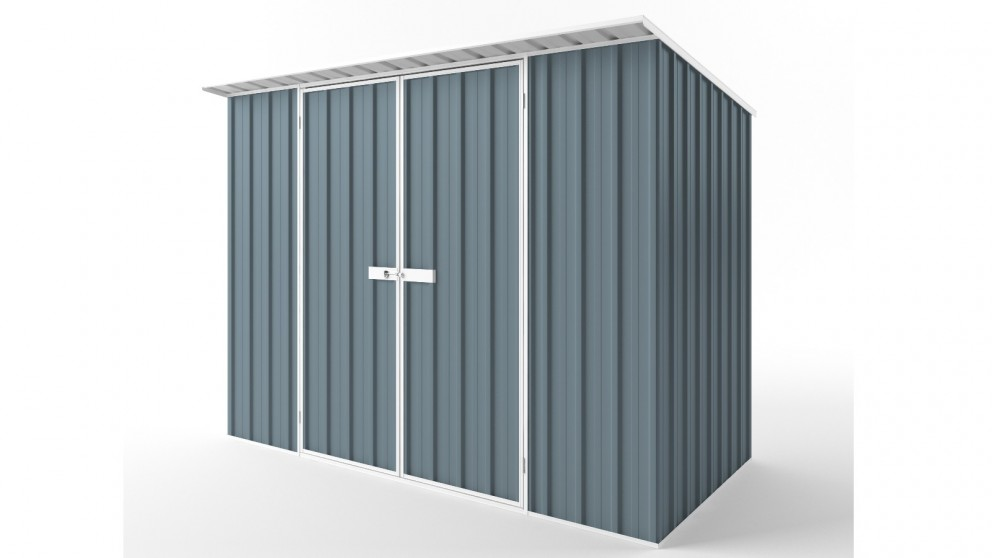EasyShed D3015 Skillion Roof Garden Shed - Blue Horizon
