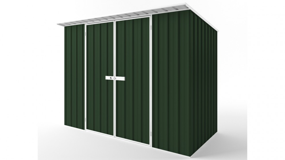 EasyShed D3015 Skillion Roof Garden Shed - Caulfield Green
