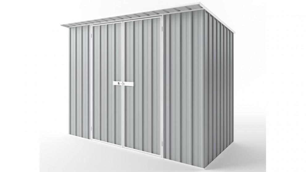 EasyShed D3015 Skillion Roof Garden Shed - Gull Grey