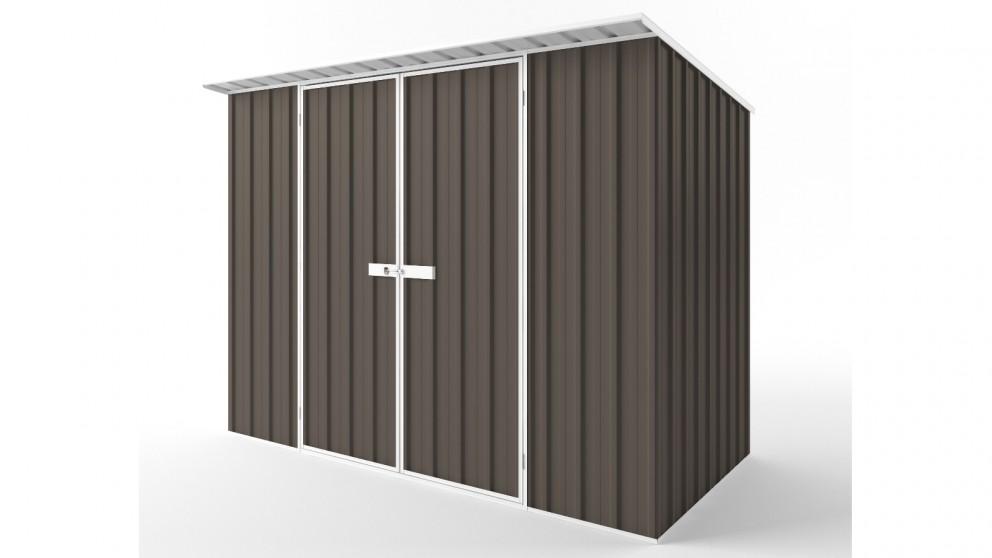 EasyShed D3015 Skillion Roof Garden Shed - Jasmine Brown