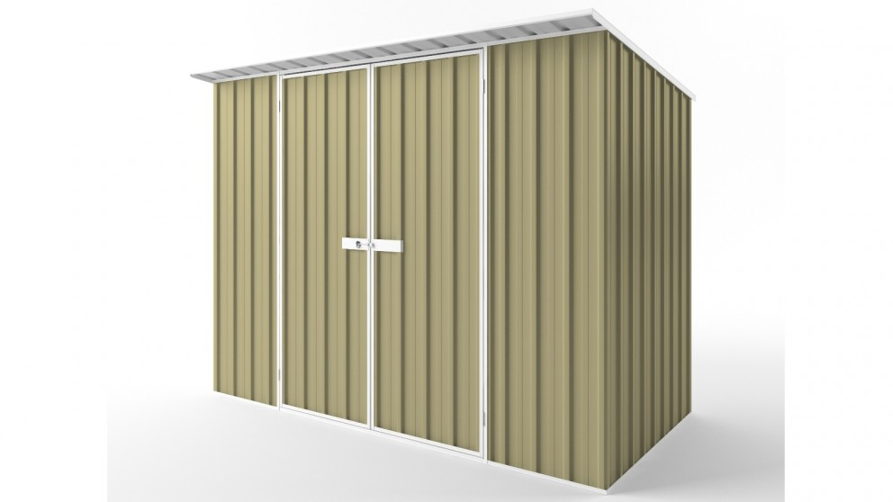 EasyShed D3015 Skillion Roof Garden Shed - Sandalwood