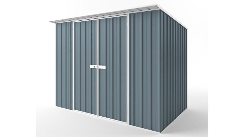 EasyShed D3019 Skillion Roof Garden Shed - Blue Horizon