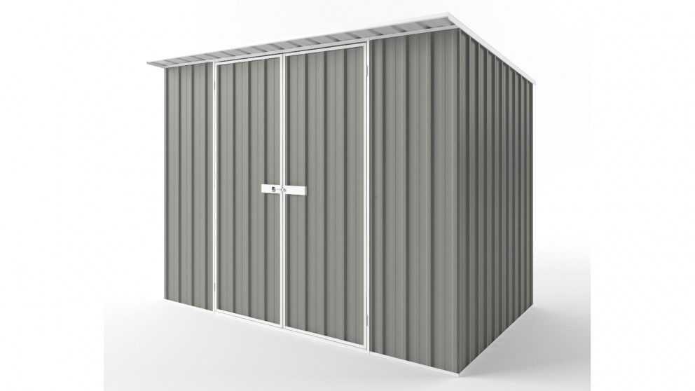 EasyShed D3019 Skillion Roof Garden Shed - Bush Smoke