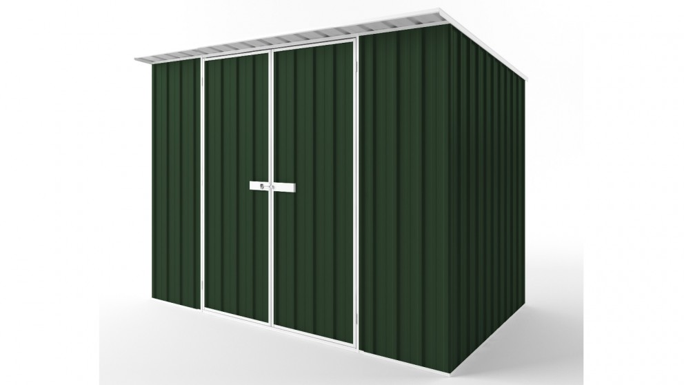 EasyShed D3019 Skillion Roof Garden Shed - Caulfield Green