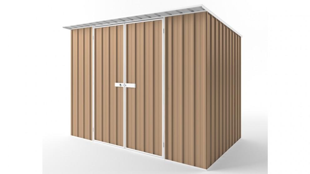 EasyShed D3019 Skillion Roof Garden Shed - Pale Terracotta