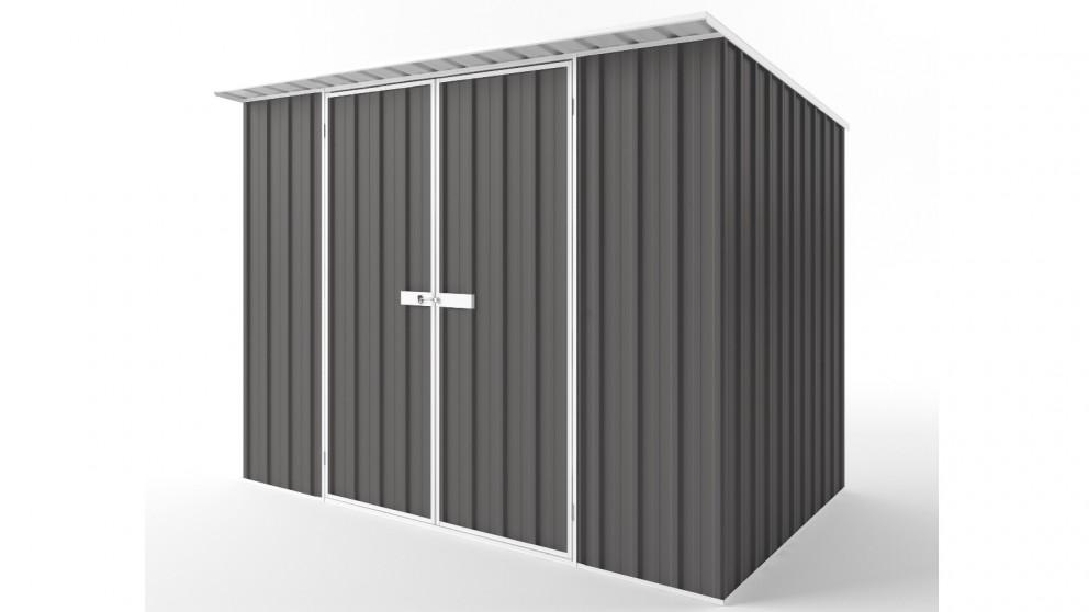 EasyShed D3019 Skillion Roof Garden Shed - Slate Grey