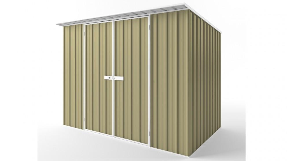EasyShed D3019 Skillion Roof Garden Shed - Sandalwood