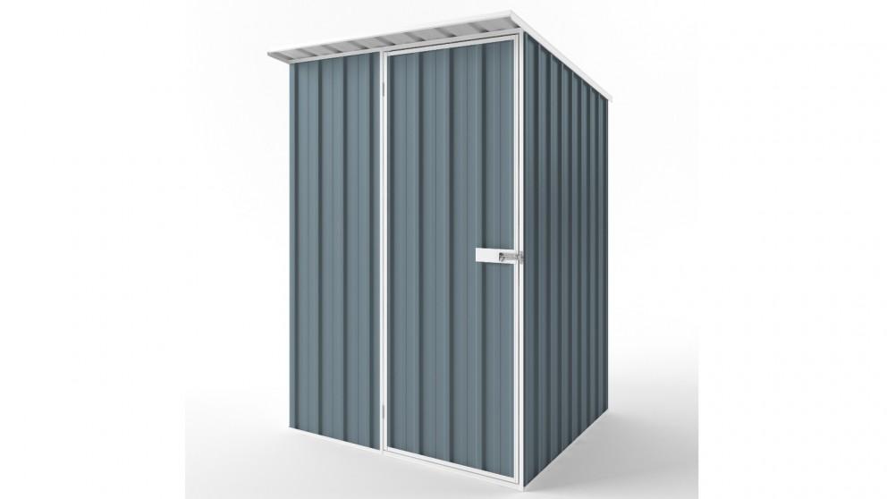 EasyShed S1515 Skillion Roof Garden Shed - Blue Horizon