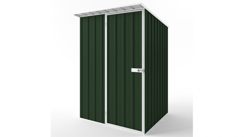 EasyShed S1515 Skillion Roof Garden Shed - Caulfield Green