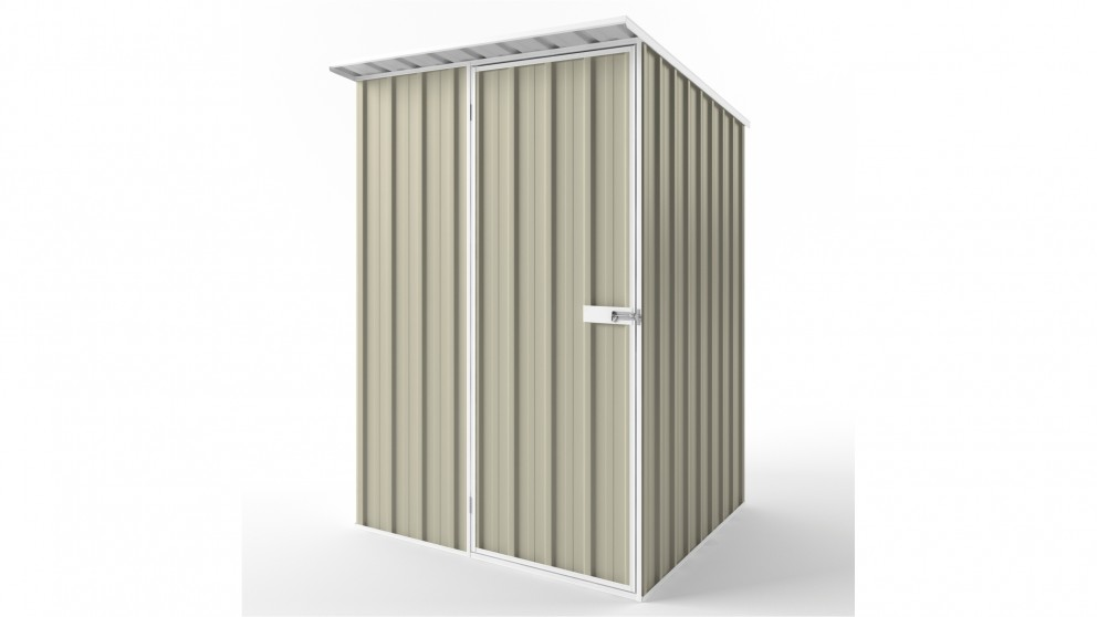 EasyShed S1515 Skillion Roof Garden Shed - Merino