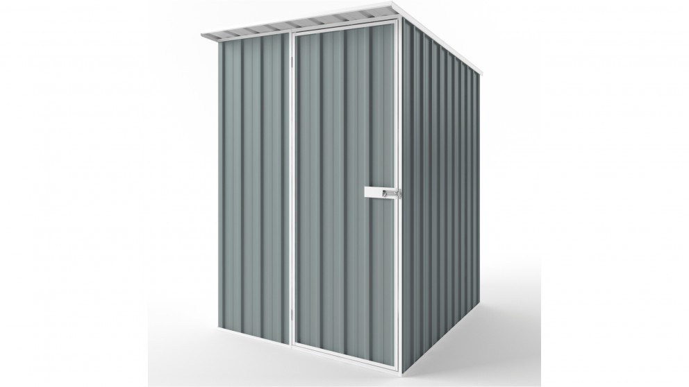EasyShed S1519 Skillion Roof Garden Shed - Armour Grey