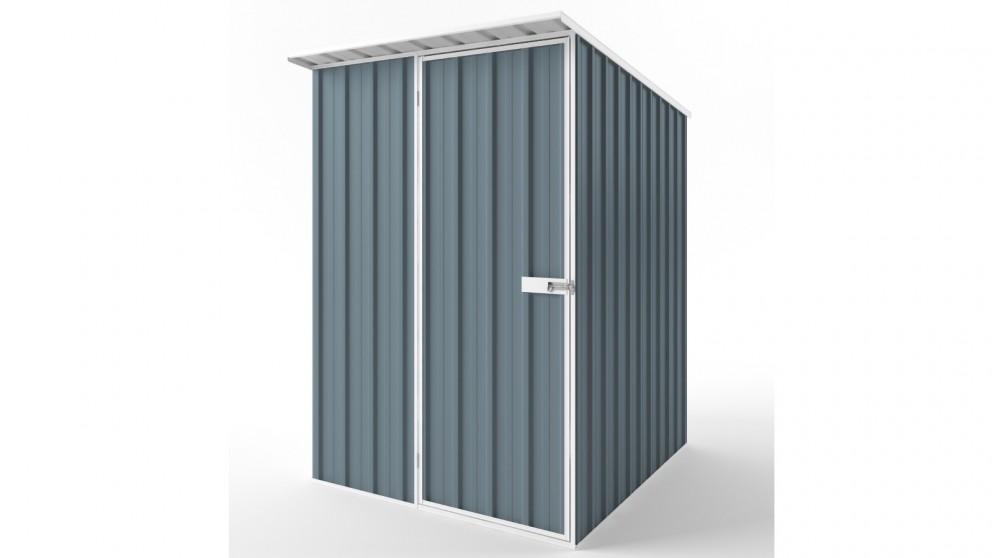 EasyShed S1519 Skillion Roof Garden Shed - Blue Horizon